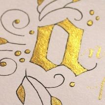 seattle calligrapher calligraphy